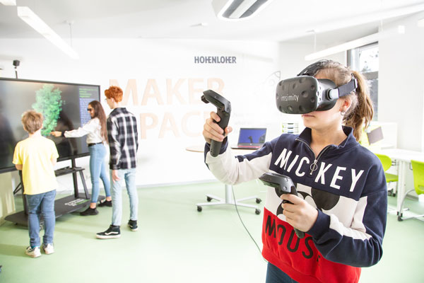 CyberClassroom im Hohenloher Maker Space