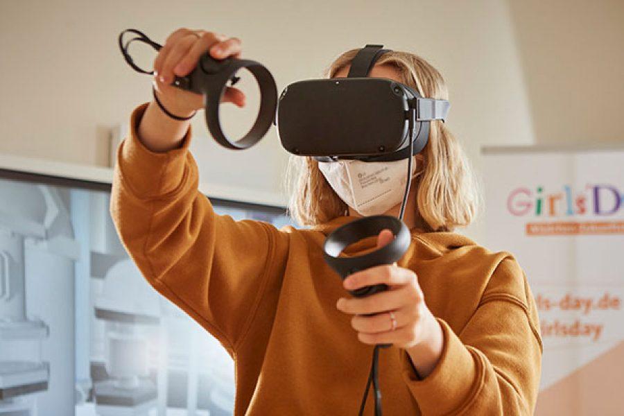 Agentur für Arbeit und imsimity ermöglichen digitalen GirlsDay in VR